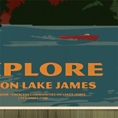 Lake James Calendar