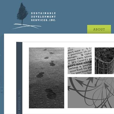 Sustainable Development Services Website