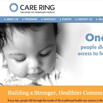 Care Ring Website