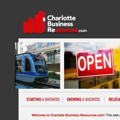 CharlotteBusinessResources.com Website