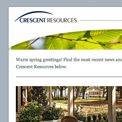 Crescent Resources e-Communications