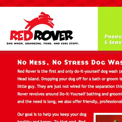 Red Rover Website