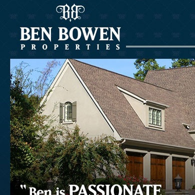 Ben Bowen Properties Website